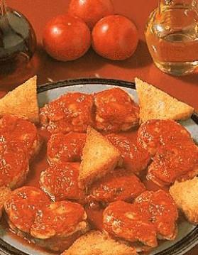 Lotte à la tomate pour 4 personnes