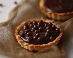 Tartelettes au chocolat et caramel salé | cuisine az