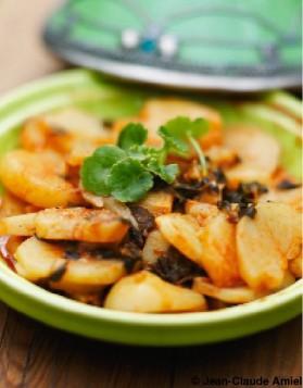 Pommes de terre et menthe nepita pour 6 personnes