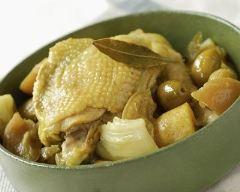 Recette tajine de poulet aux olives et citron confit spécial cookeo ...