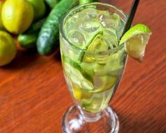Recette eau de concombre et citron vert