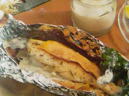 Recette de truite au saumon fumé et roquefort