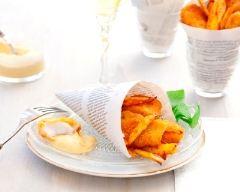Recette fish and chips au tandoori et au curcuma