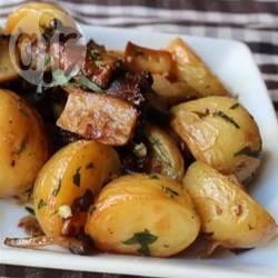 Recette rissolée de champignons et pommes de terre – toutes les ...