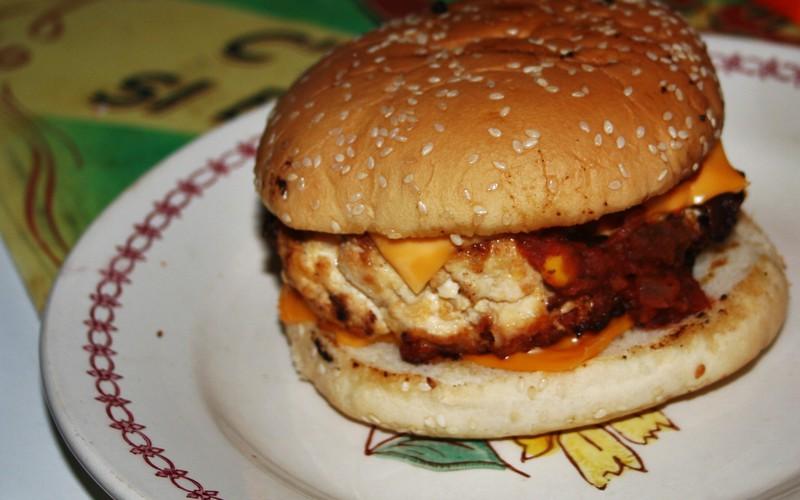 Recette burger à la mexicaine économique > cuisine étudiant