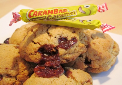 Recette de cookies aux carambars
