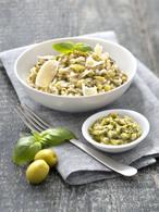 Recette de risotto au pesto vert