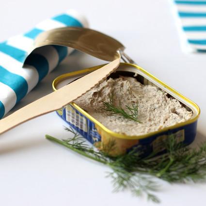 Recette de tartinade de sardine à l'aneth