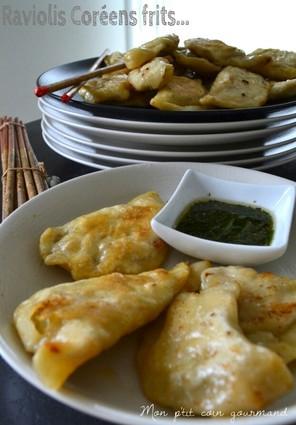 Recette de raviolis coréens frits