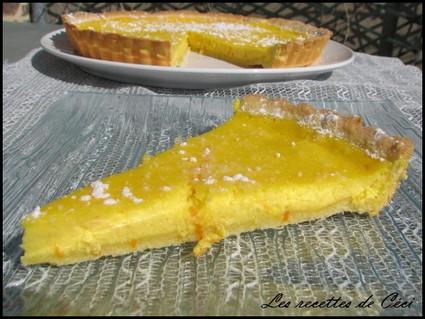 Recette de tarte à la ricotta et à l'orange