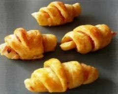 Recette croissants au bacon