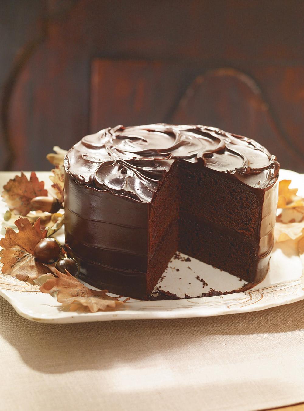 Gâteau au chocolat et à la bière guinness | ricardo