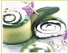 Recette roulés de concombre de france