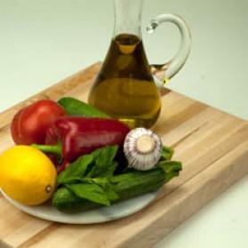 Grillade de légumes à la menthe pour 4 personnes