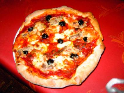 Recette de pizza au thon et au fromage