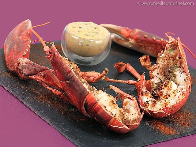 Homard rôti, sauce béarnaise  la recette illustrée  meilleurduchef ...