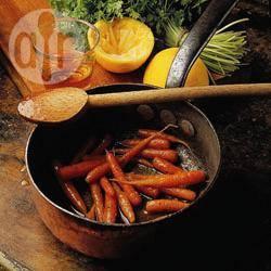 Recette carottes glacées à l'orange – toutes les recettes allrecipes