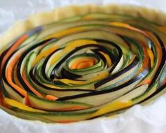 Tarte spirale aux légumes | cuisine az