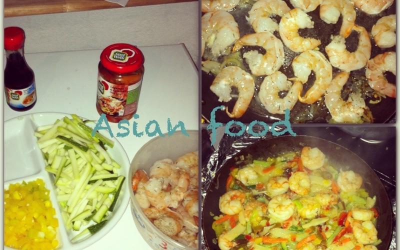Recette gambas thaï économique et facile > cuisine étudiant