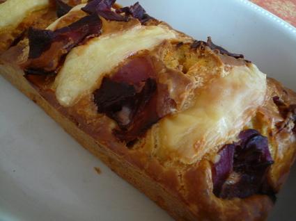 Recette de cake façon raclette