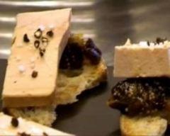 Recette toasts de foie gras aux pruneaux