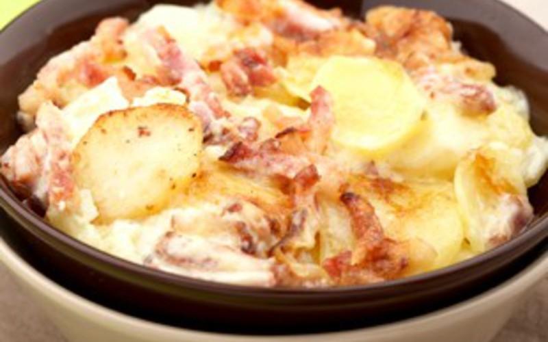 Recette gratin façon raclette pas chère et simple > cuisine étudiant