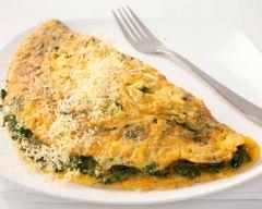 Recette omelettes aux épinards