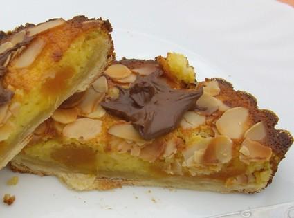 Recette de tartelettes amandine aux abricots secs