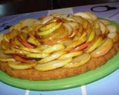 Recette sablé aux pommes et caramel de beurre salé