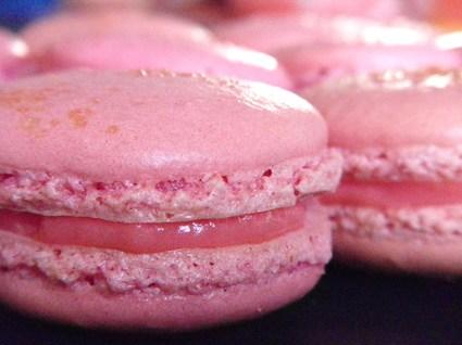 Recette de macarons à la fraise tagada