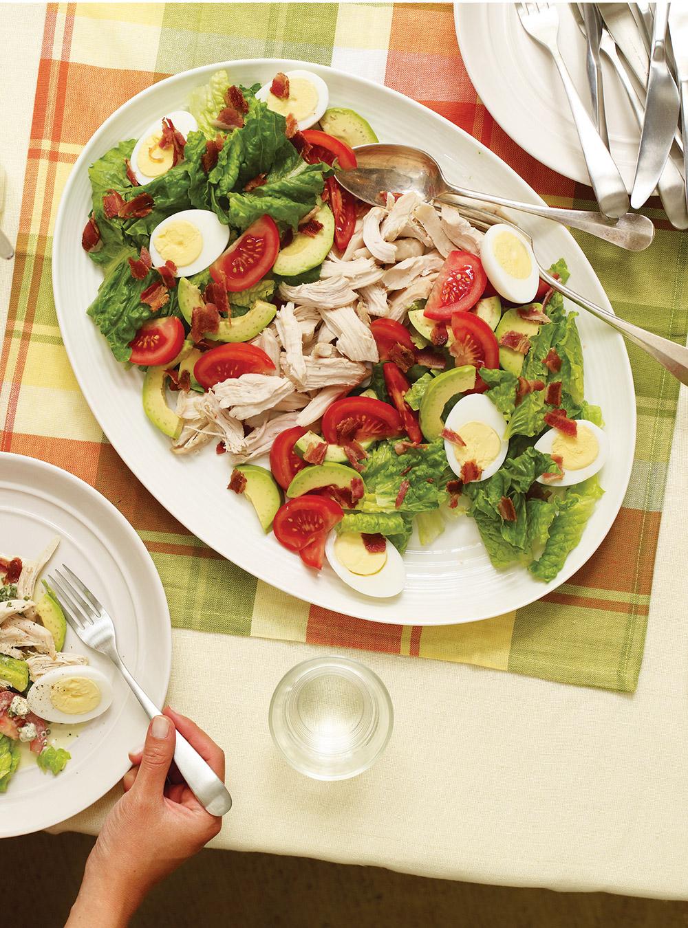 Salade-repas cobb | ricardo