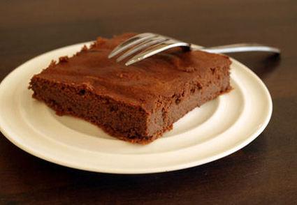 Recette de moelleux au chocolat allégé