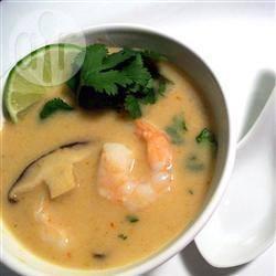 Recette la meilleure soupe thaïlandaise au lait de coco – toutes les ...