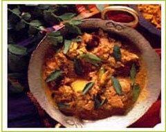 Recette curry de cabillaud