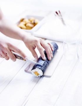 Makis coréens au maquereau pour 6 personnes