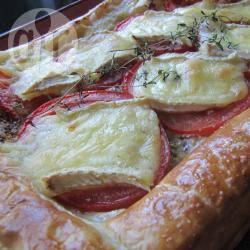 Recette tarte aux tomates et au brie – toutes les recettes allrecipes