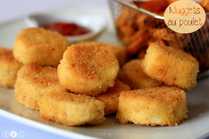 Recette de nuggets au poulet