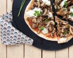 Recette pizza ai funghi