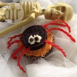 Recette cupcakes araignées au oreo™ – toutes les recettes ...