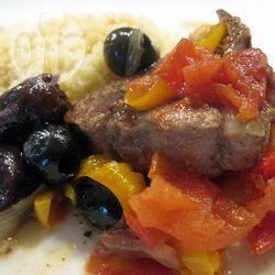Recette tajine d'agneau aux poivrons – toutes les recettes allrecipes