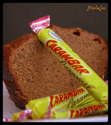 Recette de cake aux carambars