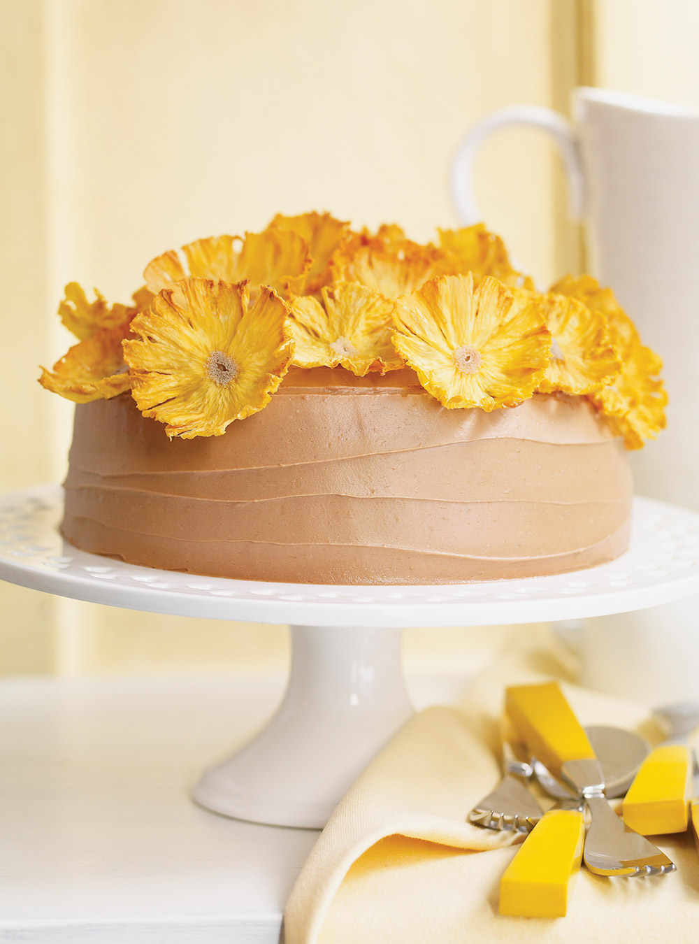 Gâteau printanier au chocolat | ricardo