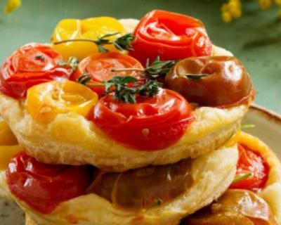 Recette tarte tatin aux légumes frais