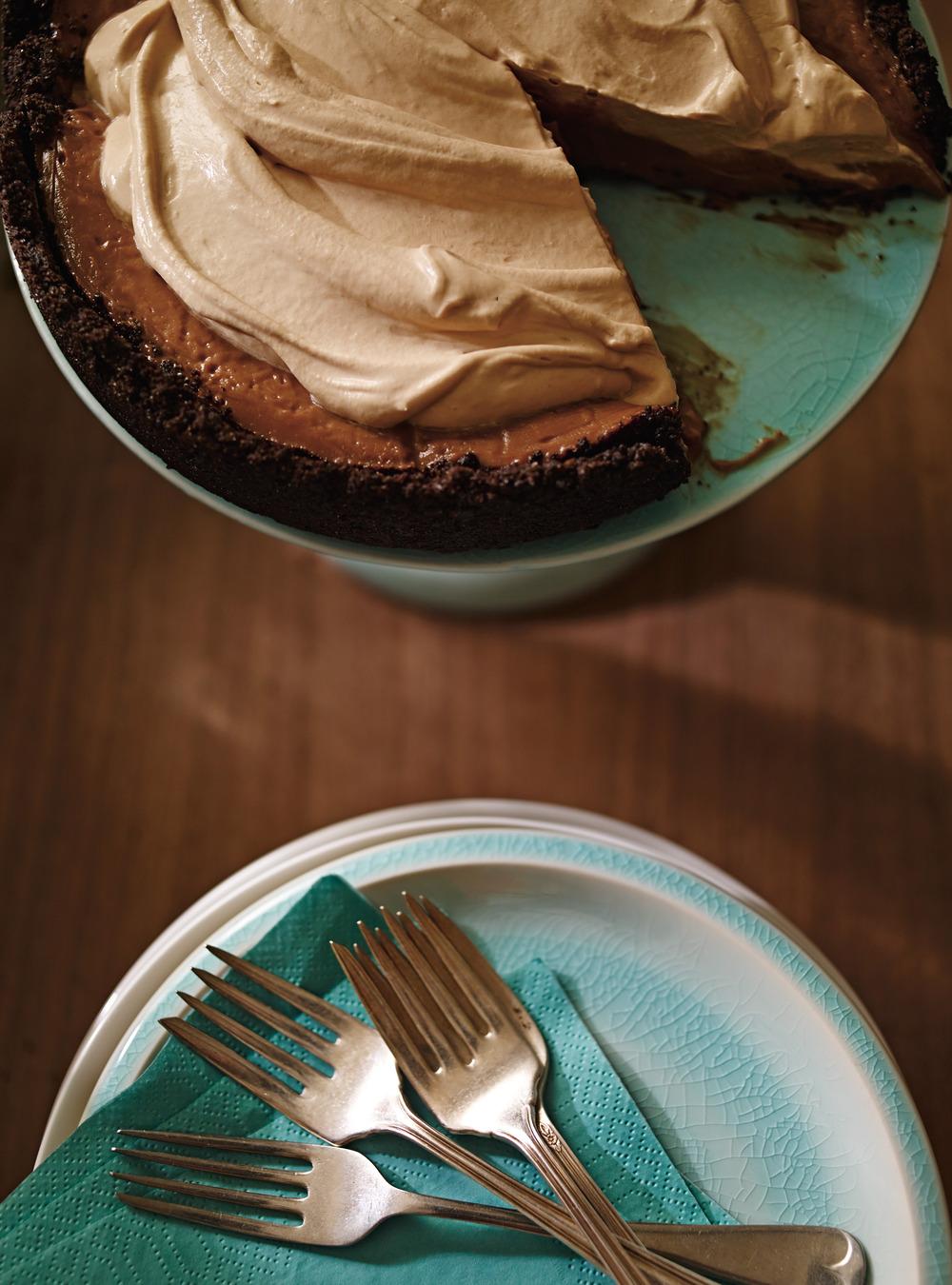 Tarte au chocolat double espresso | ricardo
