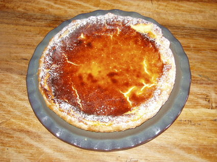 Recette de tarte au fromage blanc rapide