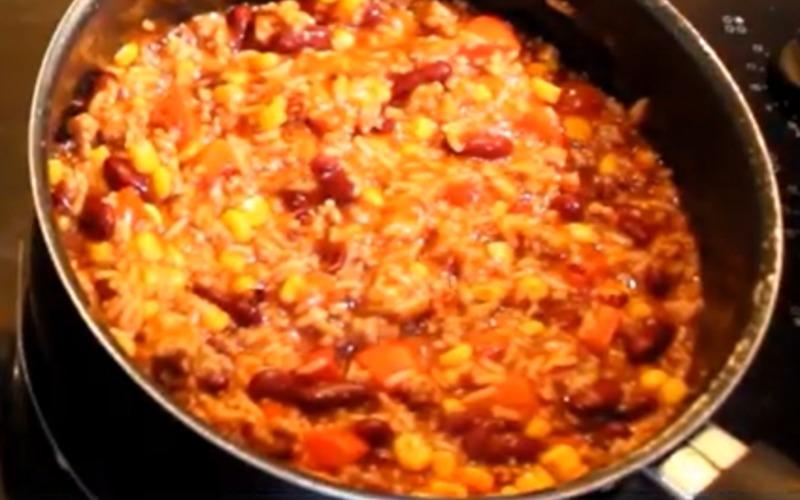 Recette chili con carne pas chère et simple > cuisine étudiant