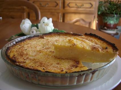 Recette de tarte à la crème pâtissière à la noix de coco