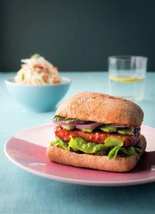 Recette de burger végétarien au tofu