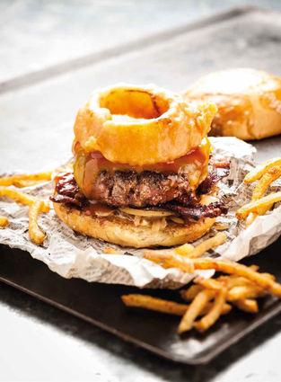 Recette de burger barbecue du camion qui fume