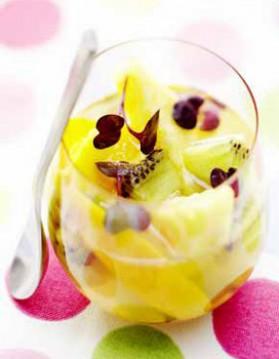 Gelée de fruits exotiques pour 4 personnes